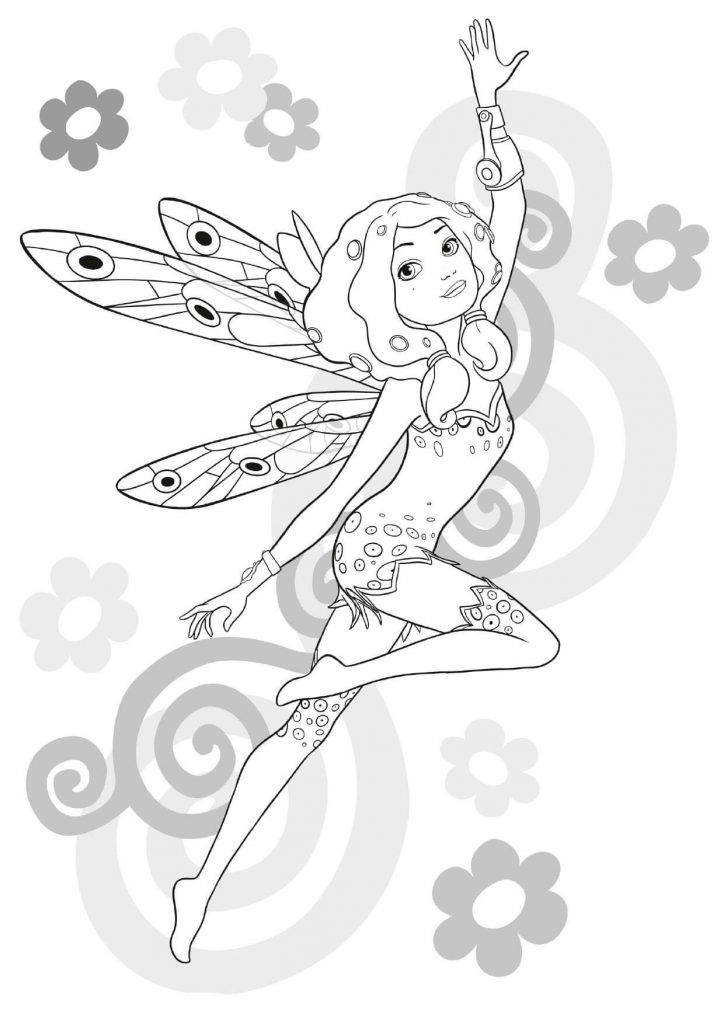 Mia and Me Printable Coloring Pages