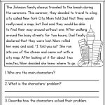 NYC Reading Comprehension Worksheet