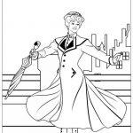 Print Mary Poppins Coloring Sheets