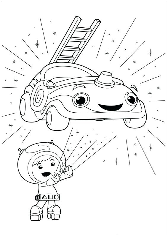Print Team Umizoomi Coloring Pages