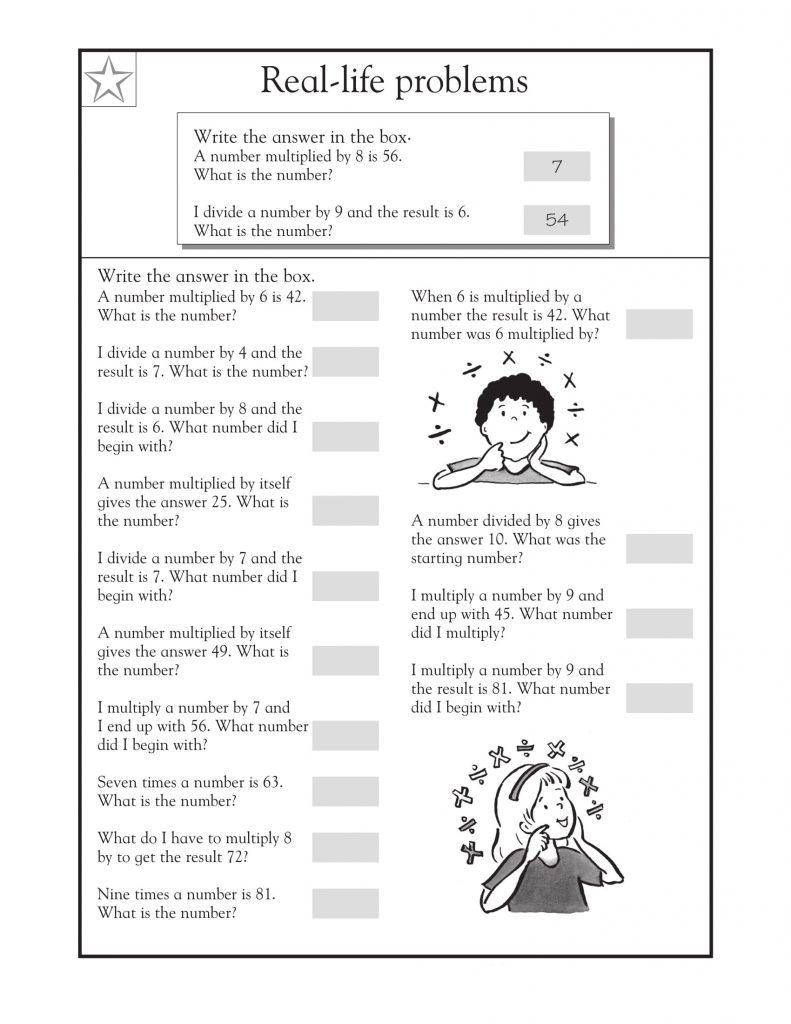 Solve 3rd Grade Math Word Problems