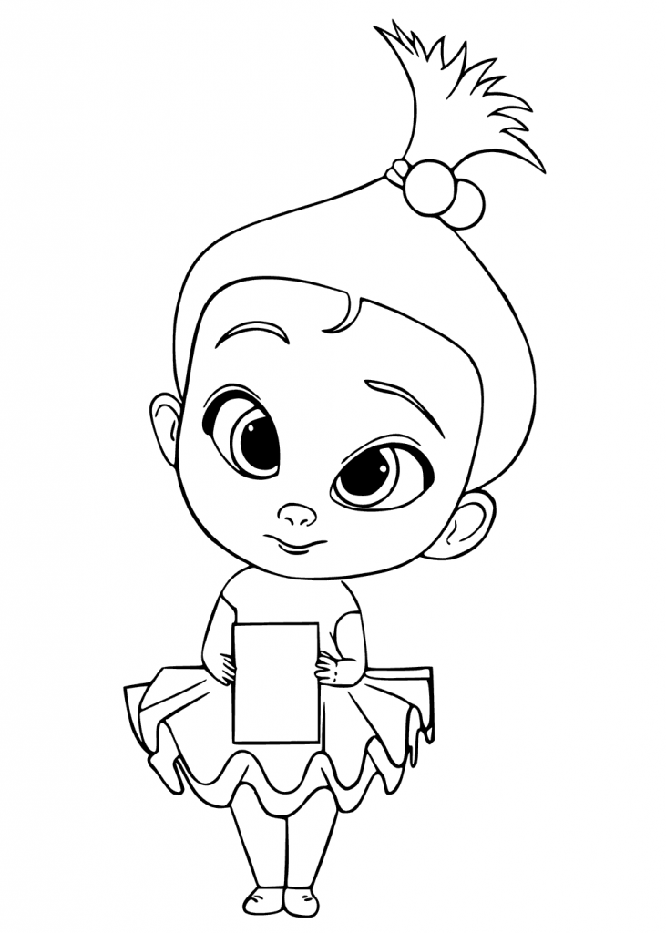 Staci Boss Baby Coloring Pages