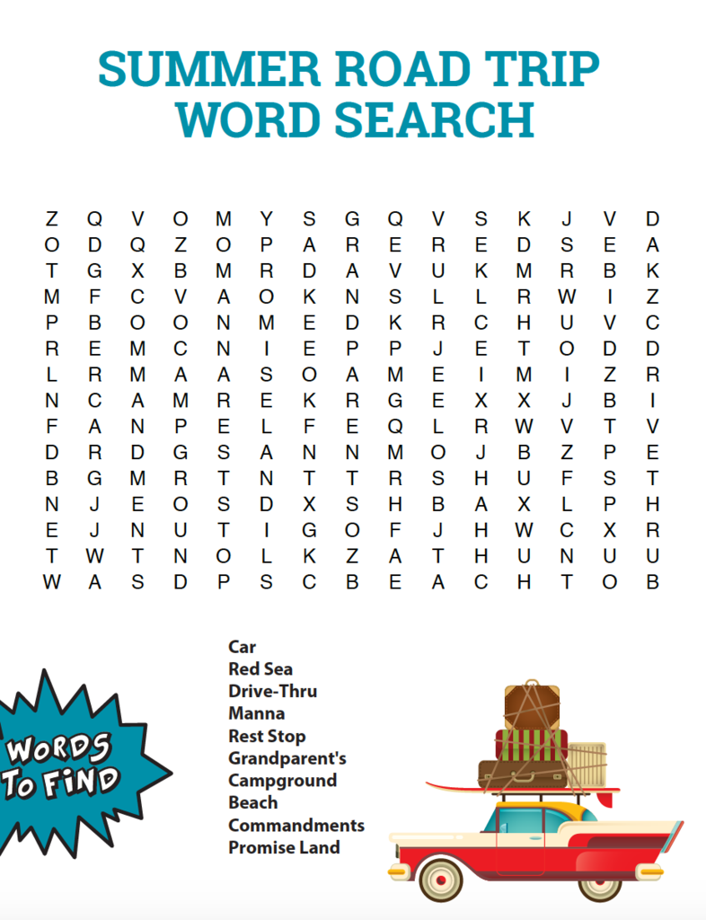 Summer Word Search Puzzles - Best Coloring Pages For Kids