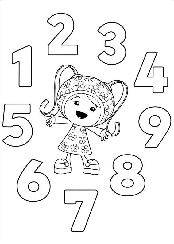 Team Umizoomi Coloring Pages Best Coloring Pages For Kids