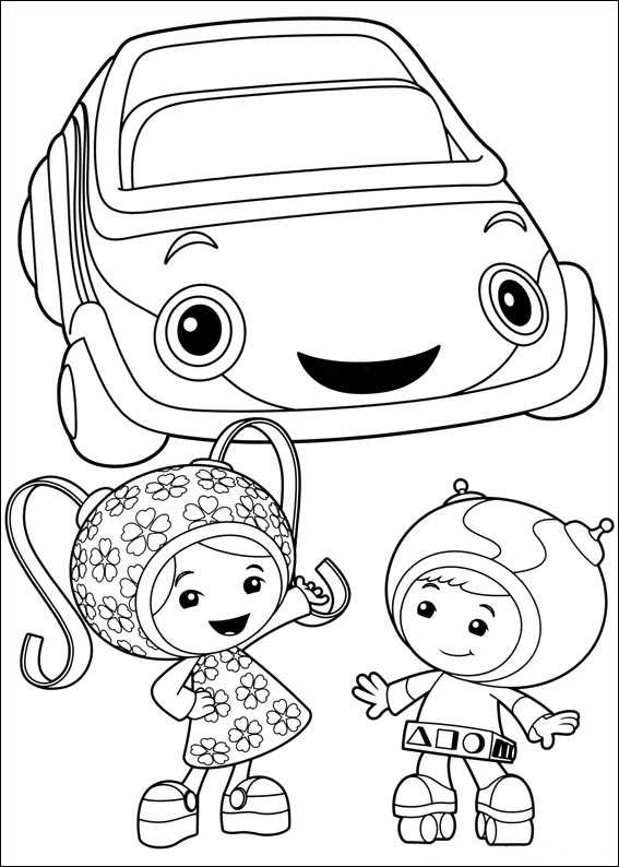 umizoomi coloring pages to print - photo#12