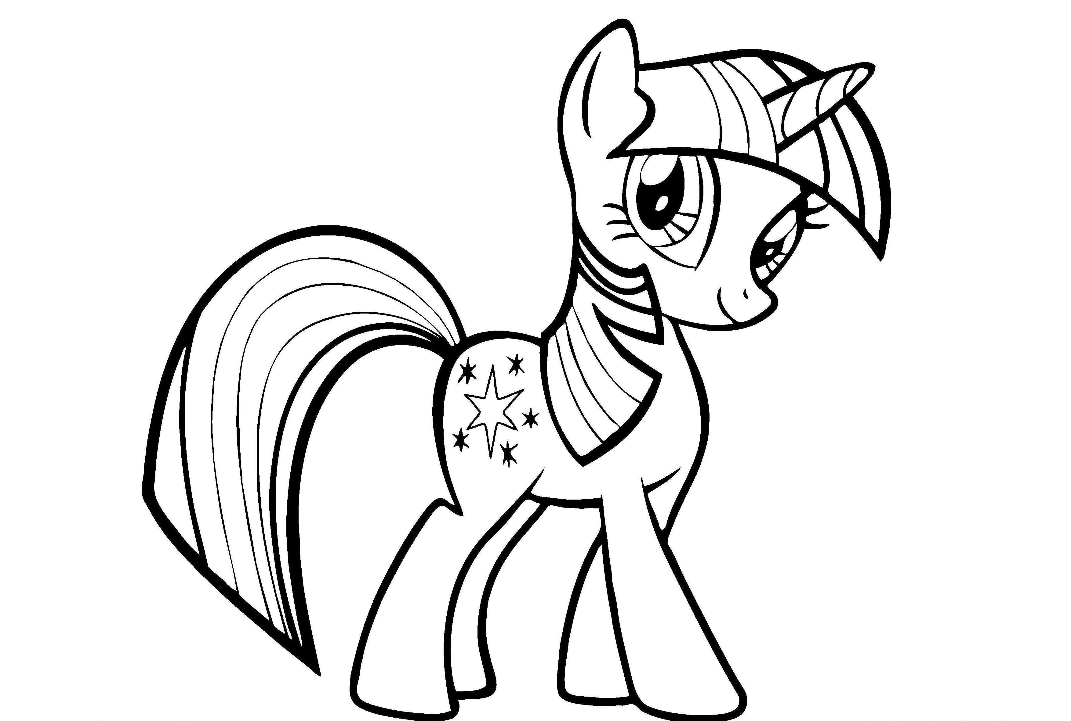 My Little Pony Midnight Sparkle Coloring Pages