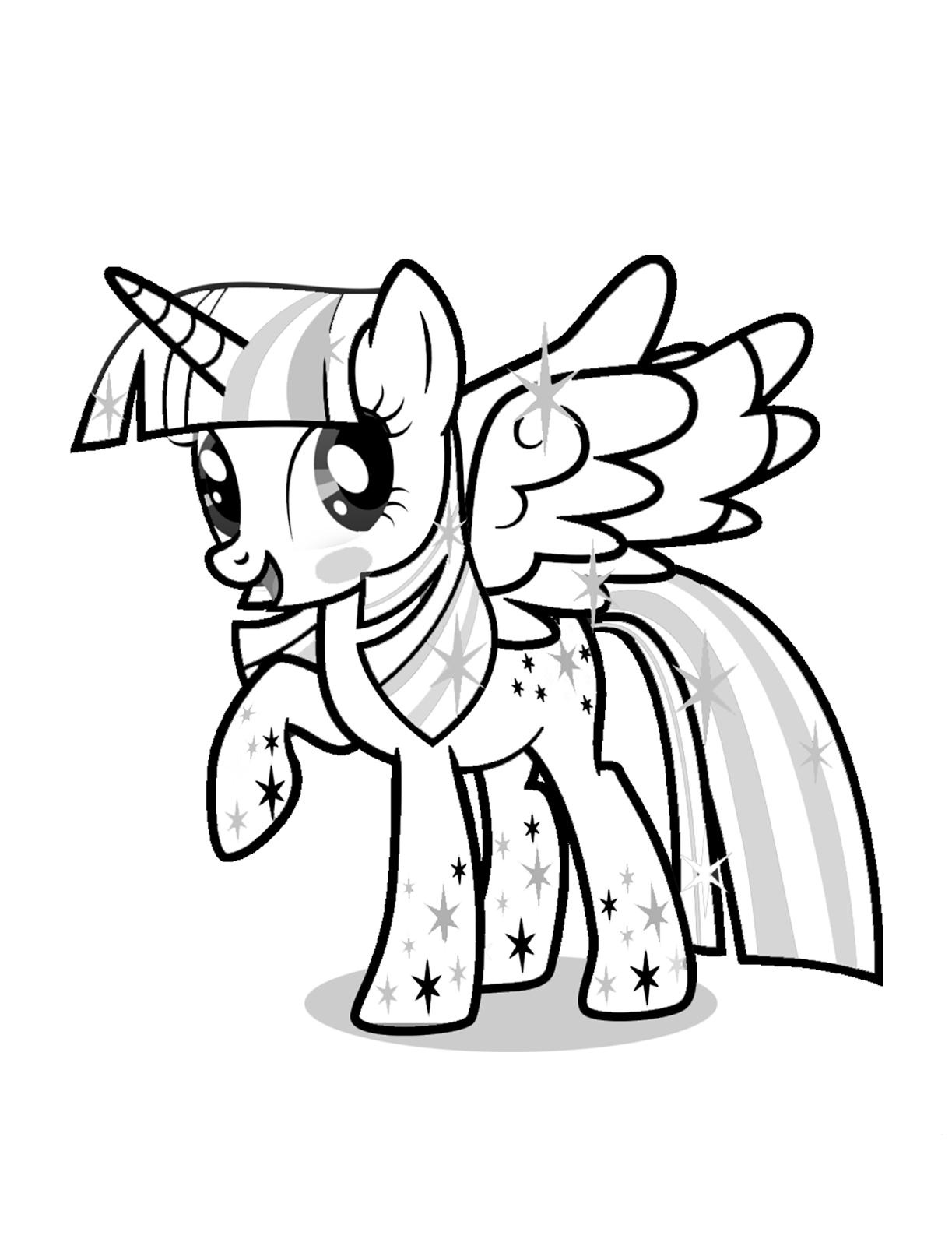 Twilight Sparkle Coloring Pages - Best Coloring Pages For Kids