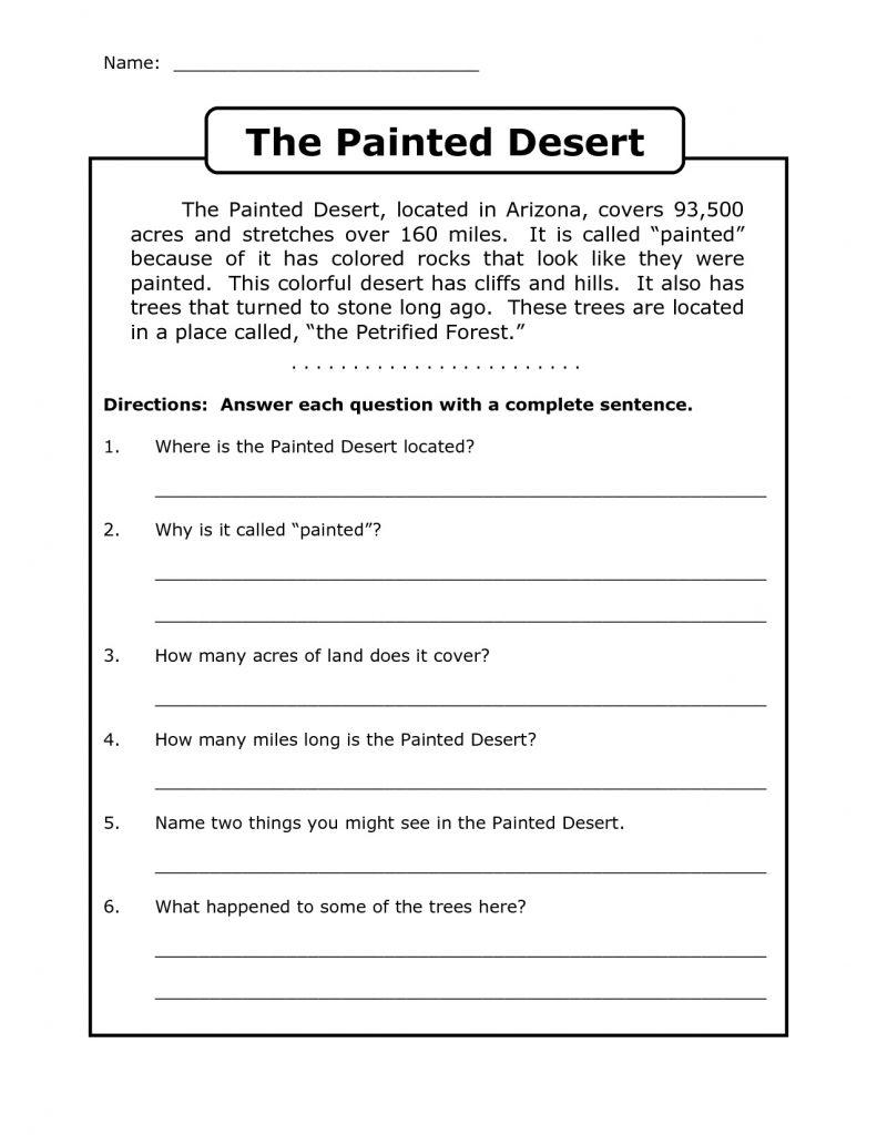 4th Grade Reading Worksheets Q&A