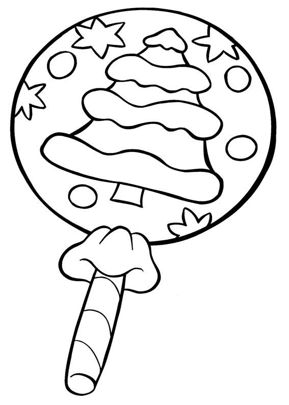 Big lollipops coloring page - Girl´s birthday party coloring pages ... | 794x567