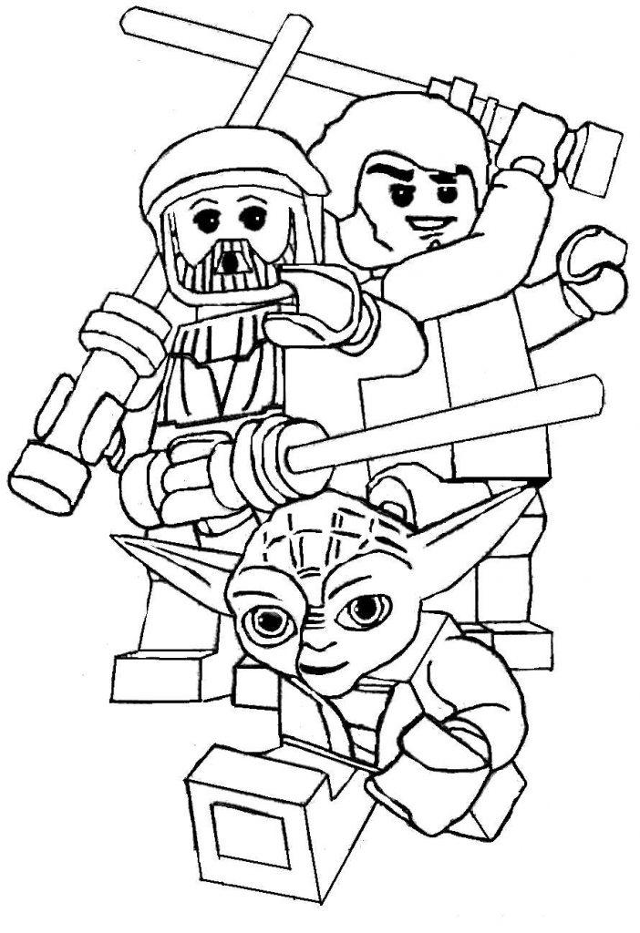 Color Lego Yoda