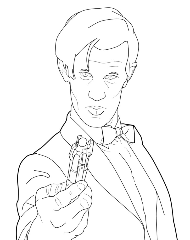 Doctor Who Coloring Pages Free