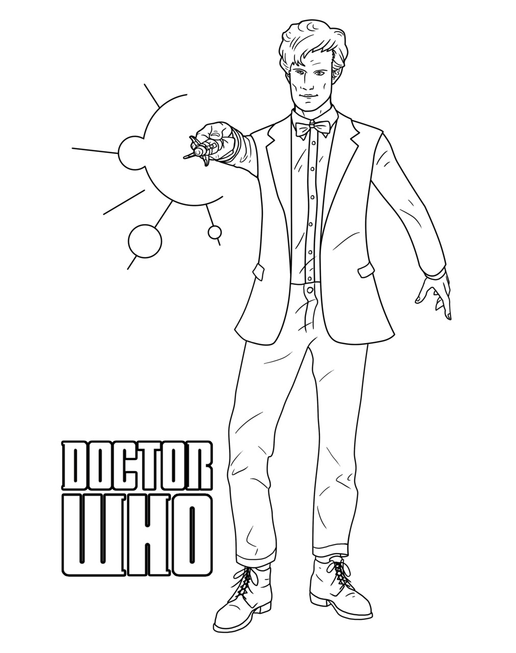 Doctor Who Coloring Pages Best Coloring Pages For Kids