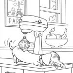 Funny Secret Life of Pets Coloring