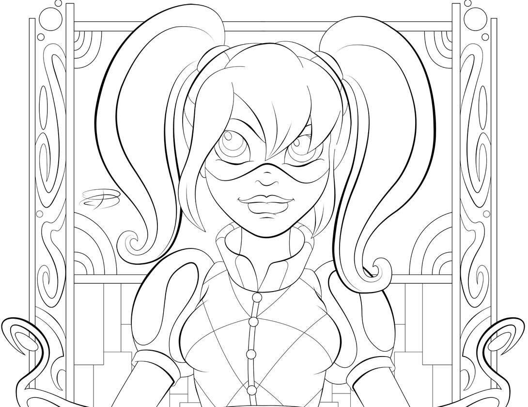 Dc Superhero Girls Coloring Pages Best Coloring Pages