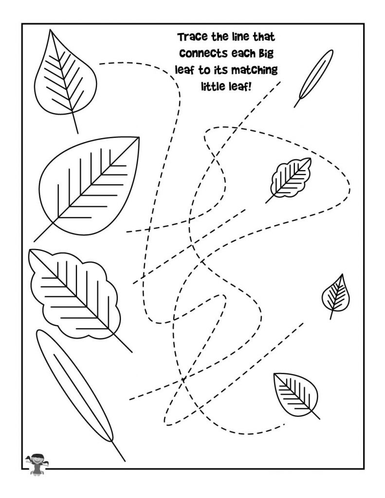 Homeschool Tracing Worksheet