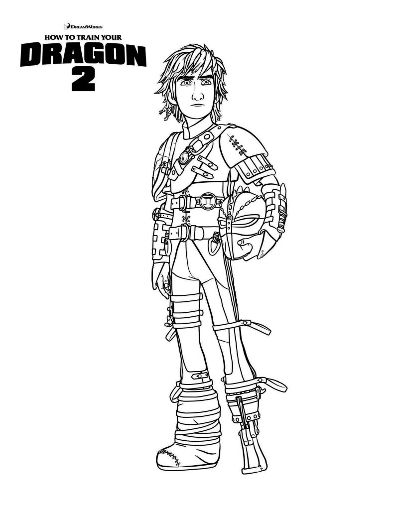 How to Train Your Dragon 2 Coloring Page