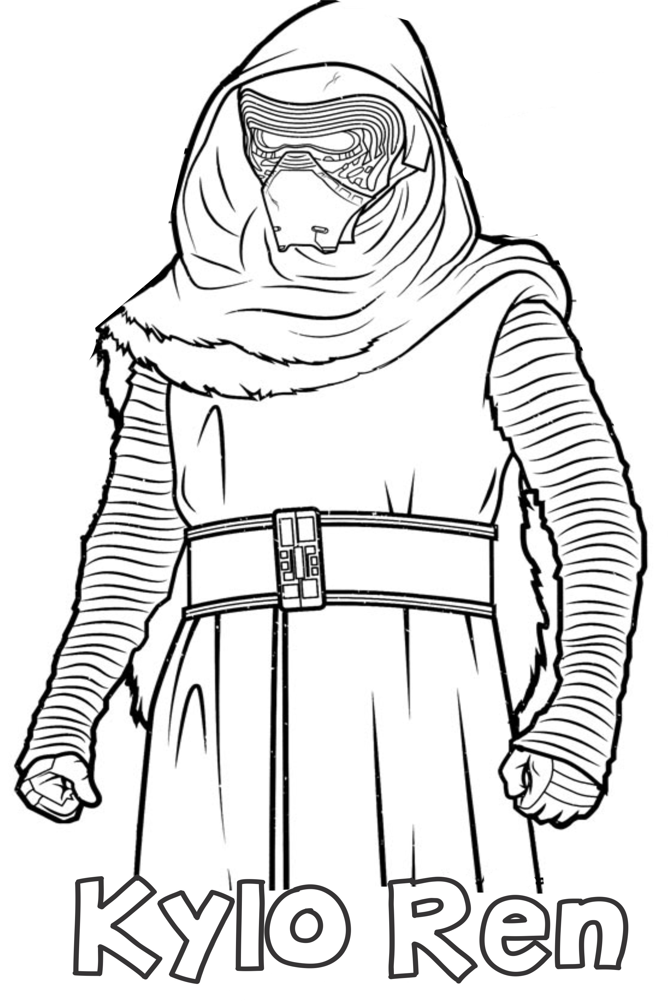 Kylo Ren Coloring Pages - Best Coloring Pages For Kids