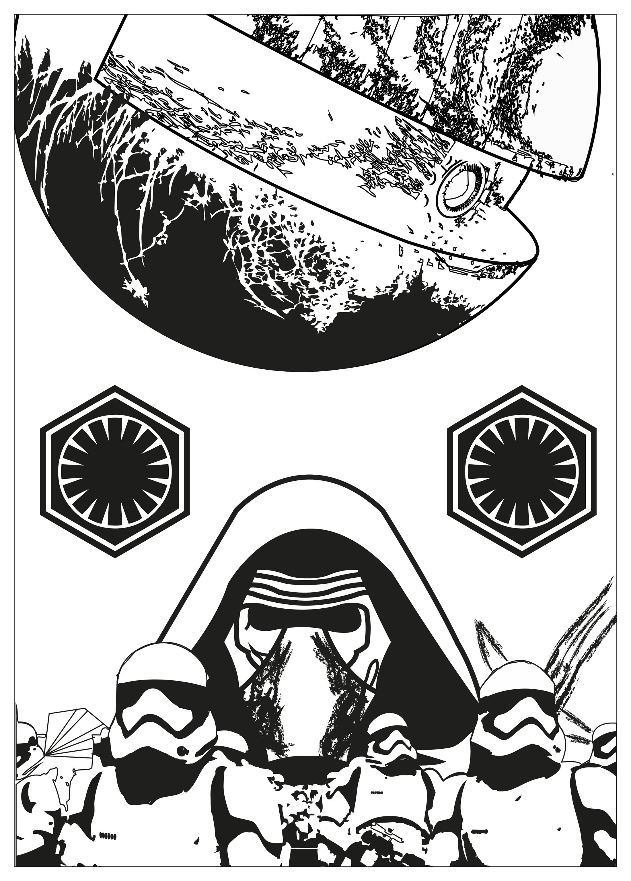 Kylo Ren Coloring Pages Best Coloring Pages For Kids