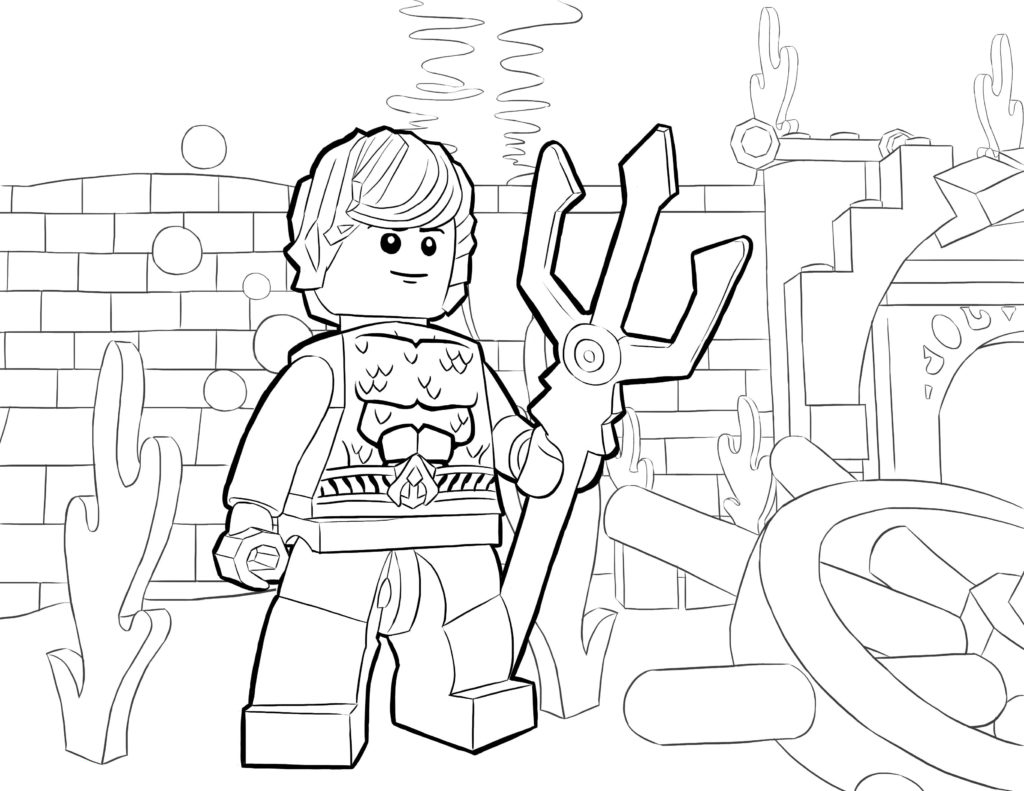 - Lego Superhero Coloring Pages - Best Coloring Pages For Kids