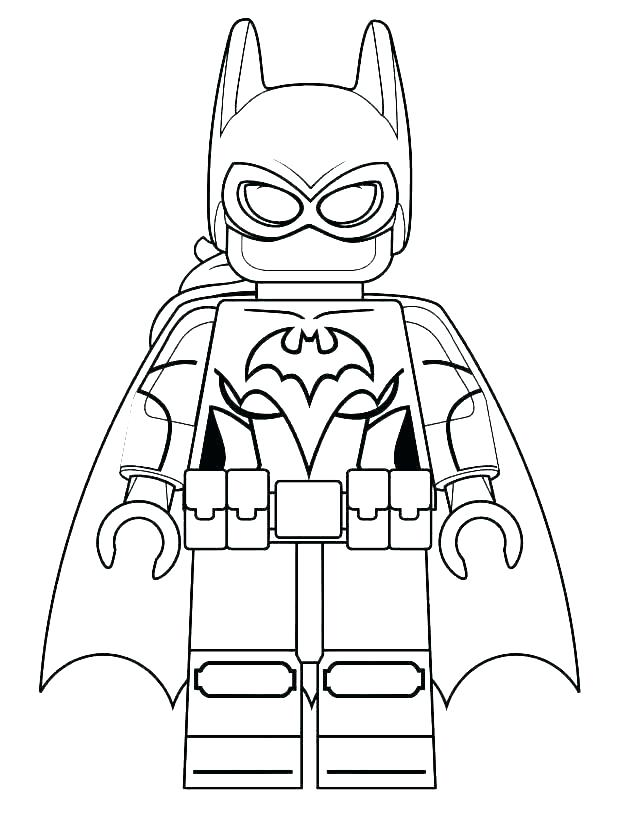 Lego Superhero Coloring Pages Best Coloring Pages For Kids
