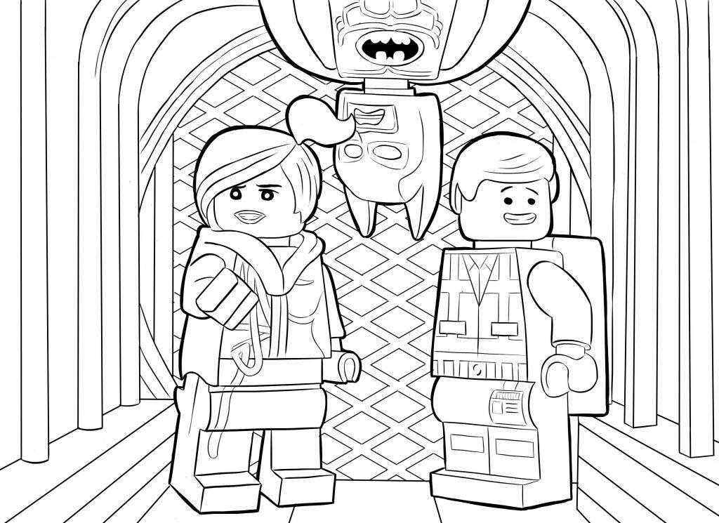 Lego Movie Superhero Coloring Page