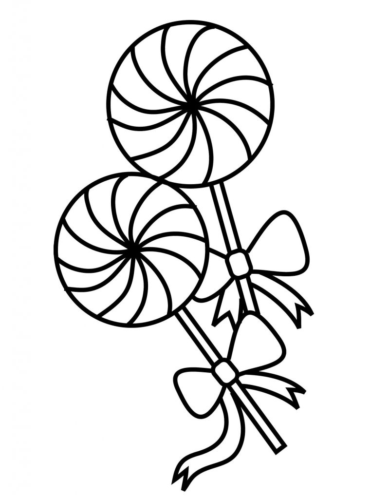 Lollipop Coloring Pages Best
