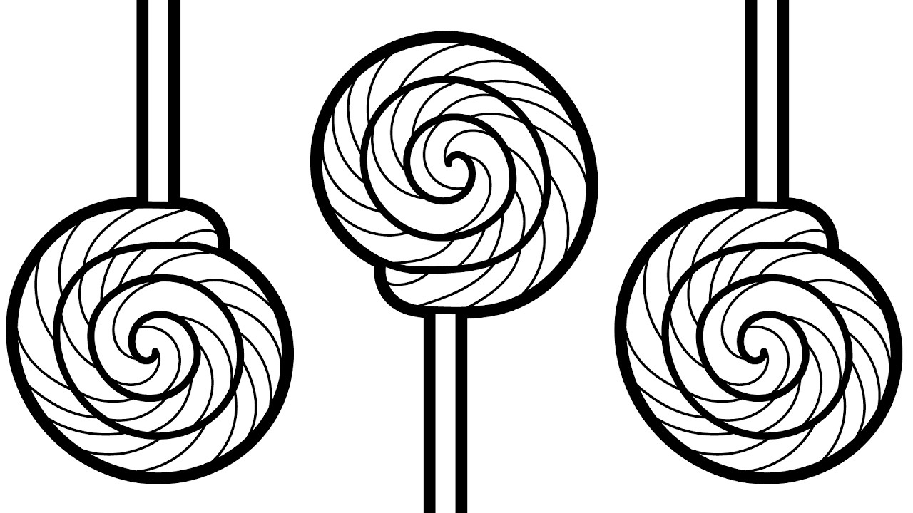 - Lollipop Coloring Pages - Best Coloring Pages For Kids