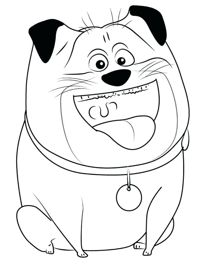 Mel - The Secret Life of Pets Coloring Pages