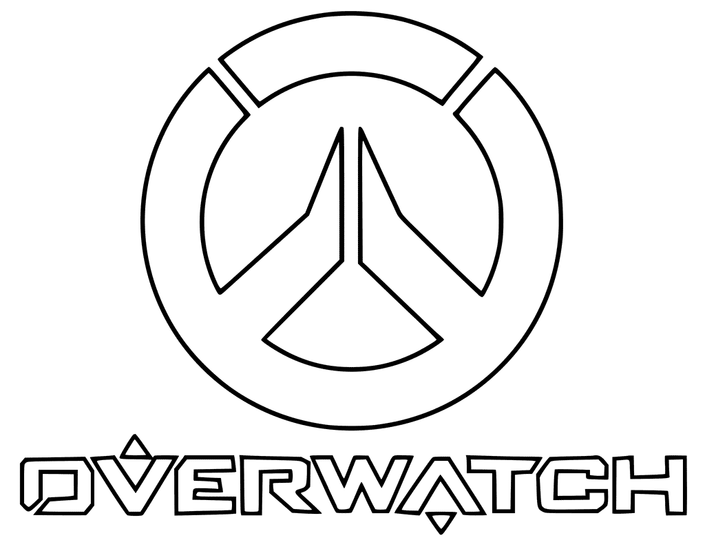 Overwatch Coloring Pages Best Coloring Pages For Kids