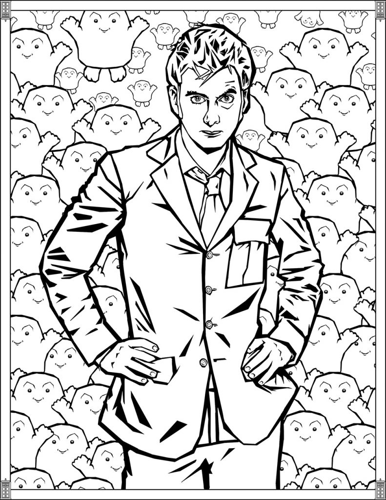 Printable Doctor Who Coloring Pages