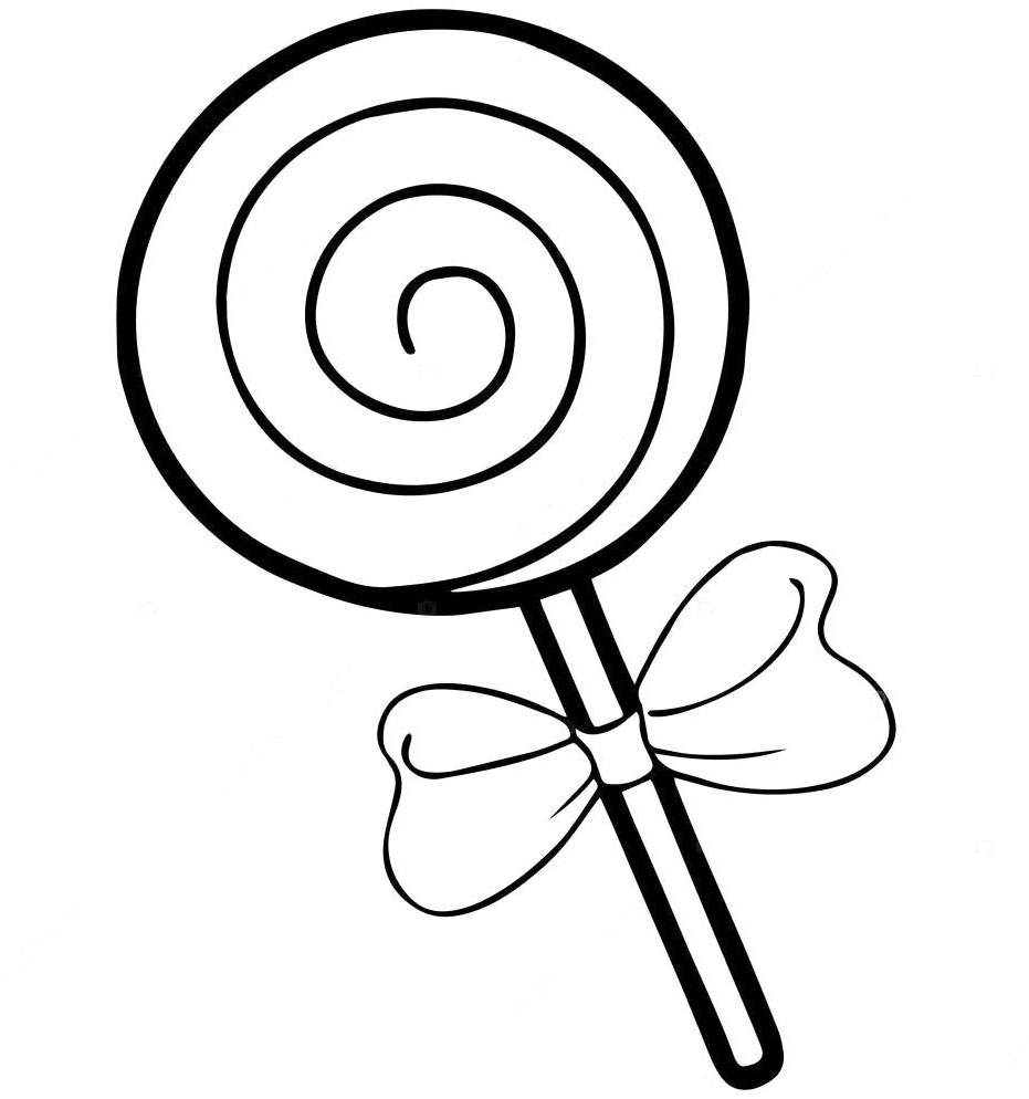 Lollipop Coloring Pages Best Coloring Pages For Kids