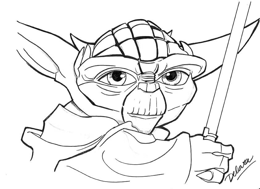 Yoda Coloring Pages Best For Kidsrhbestcoloringpagesforkids: Coloring Pages Yoda At Baymontmadison.com
