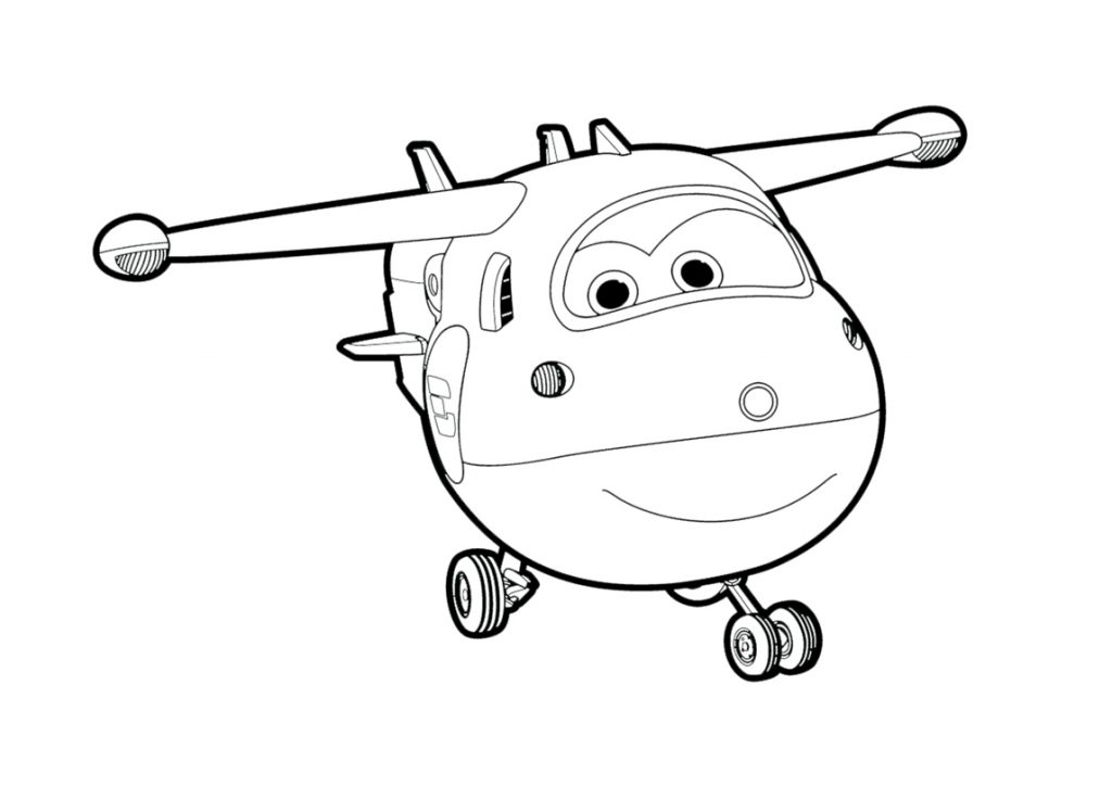 Super Wings Coloring Pages Printables