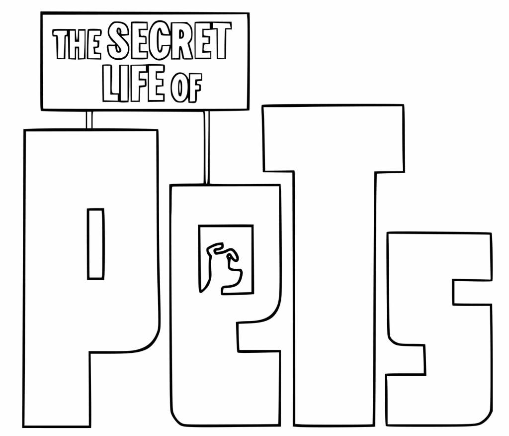 The Secret Life of Pets Movie Coloring Pages