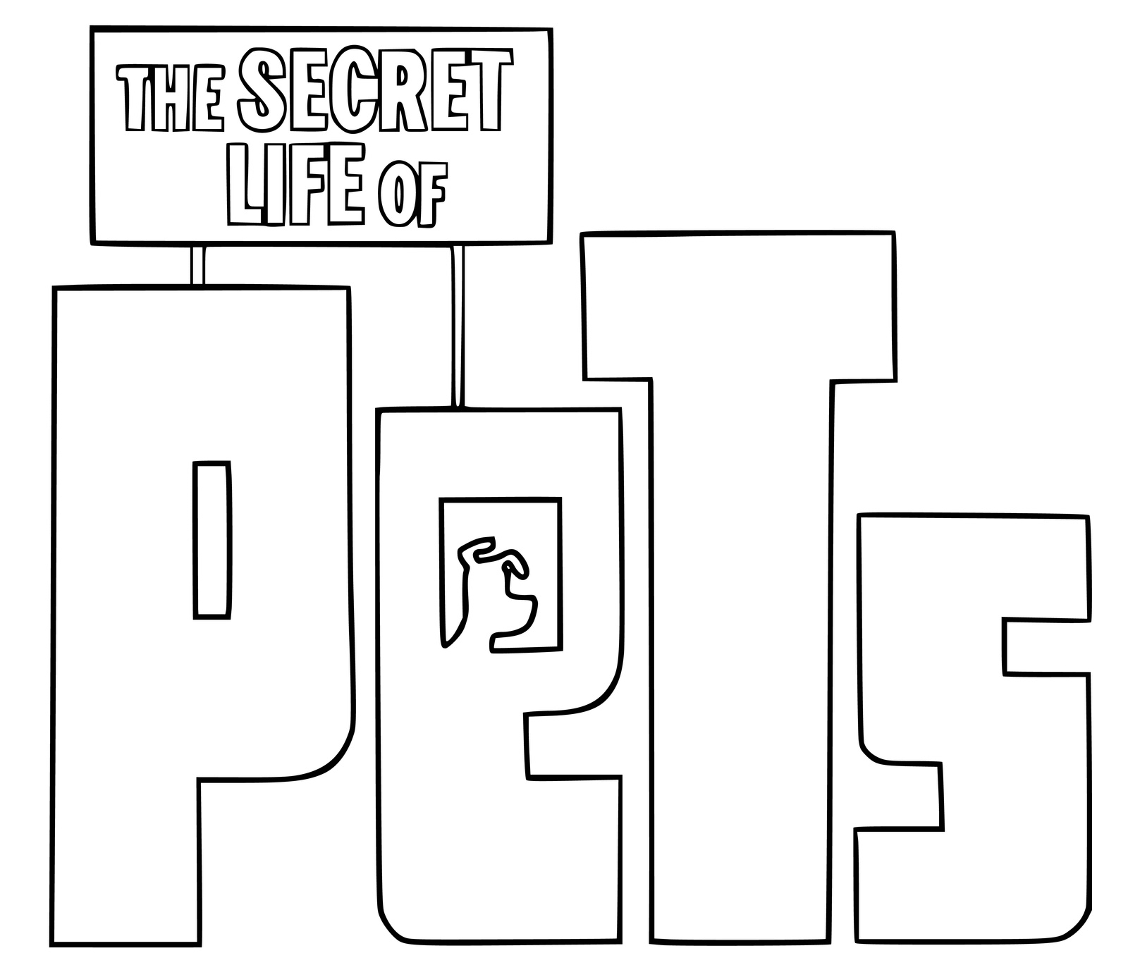 The Secret Life Of Pets Coloring Pages Best Coloring Pages For Kids
