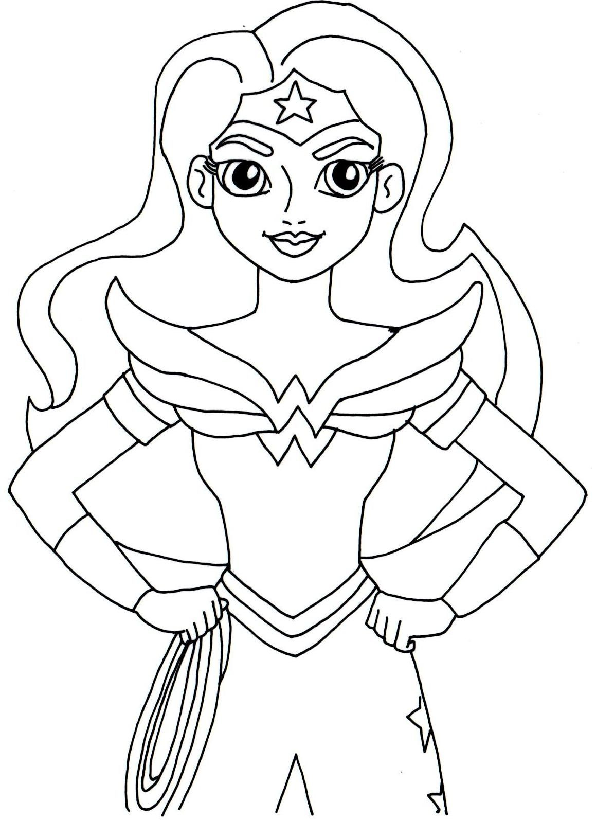 - DC Superhero Girls Coloring Pages - Best Coloring Pages For Kids