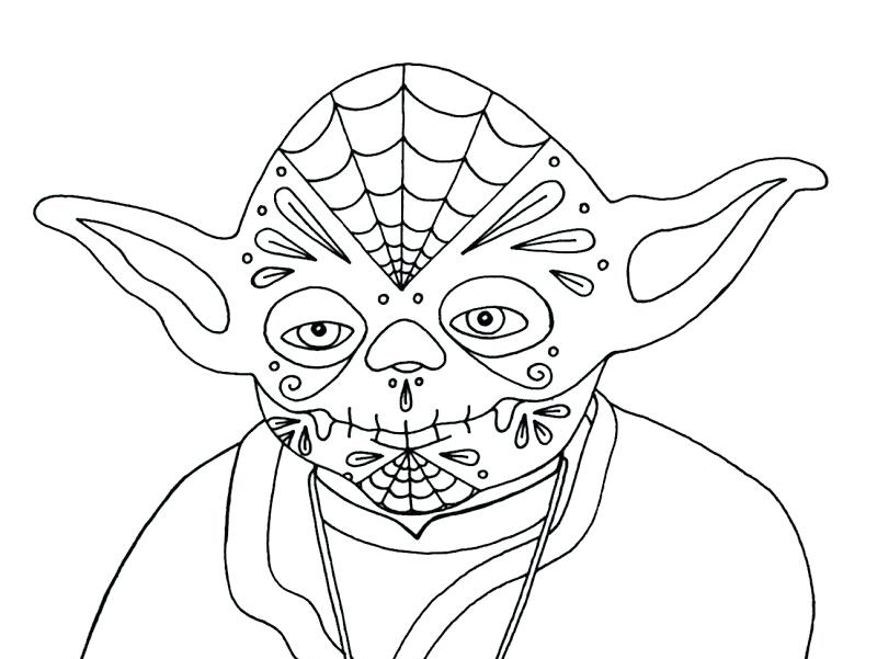 Yoda Coloring Pages - Best Coloring Pages For Kids