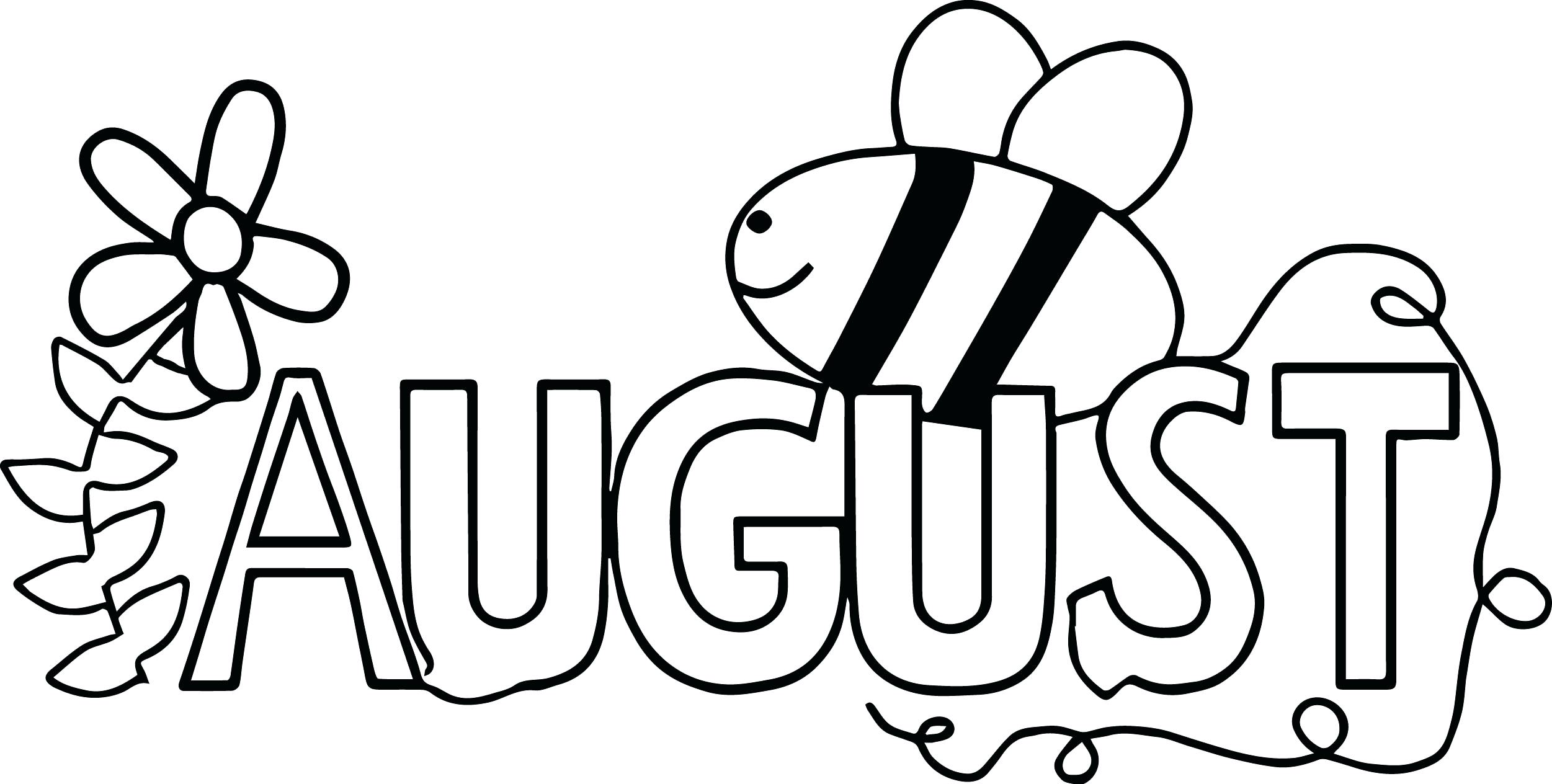 August coloring pages best coloring pages for kids