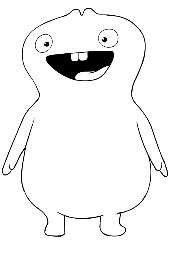 Babo - Ugly Doll Coloring Pages