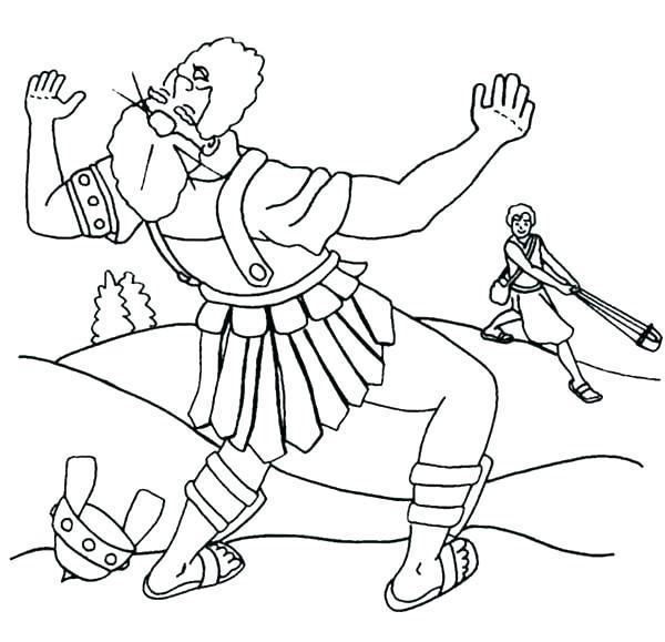 Bible Sheets - David and Goliath
