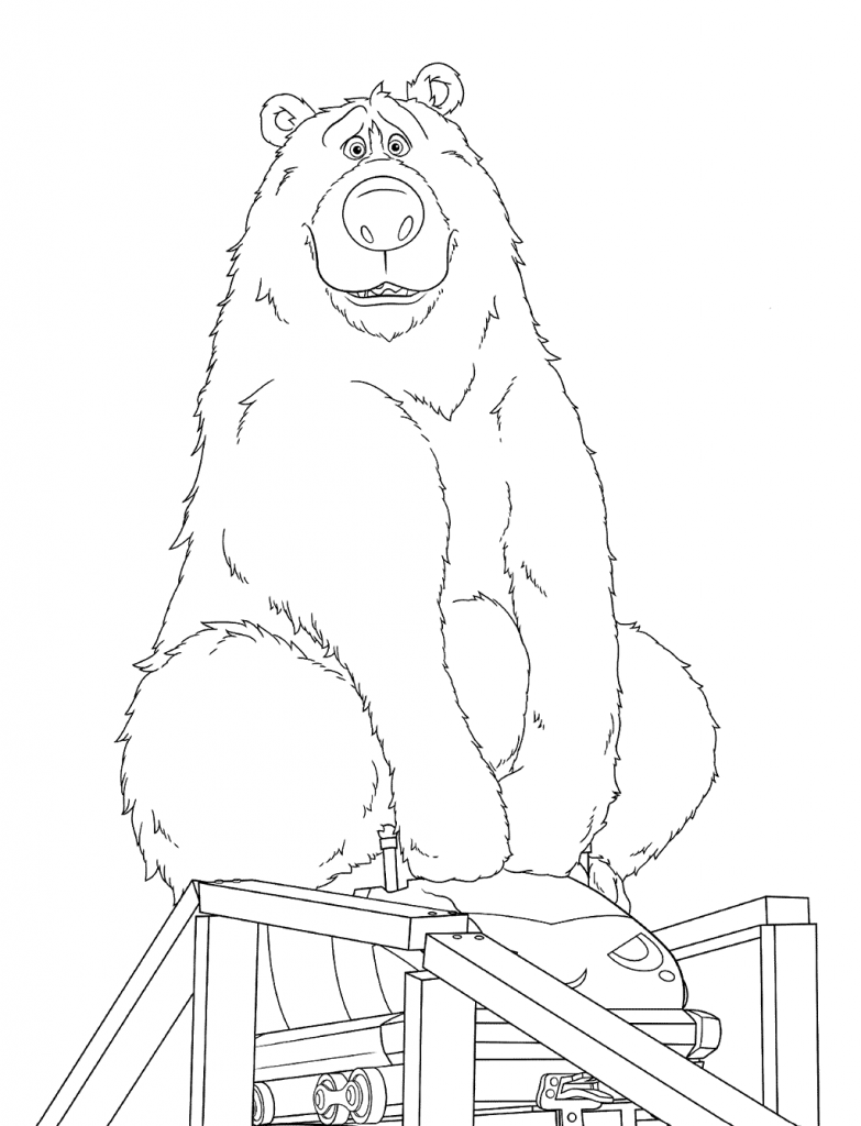 Boomer - Wonder Park Coloring Pages