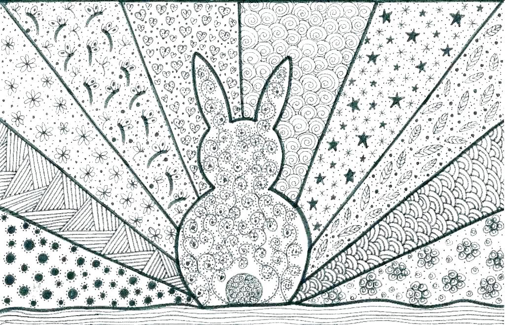 Easy Coloring Pages For Adults - Best Coloring Pages For Kids