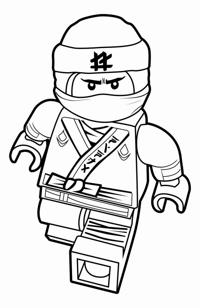 Ninja - Lego Movie Coloring Pages
