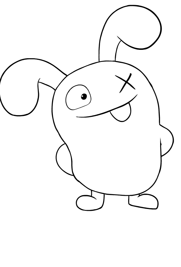 Ox - Ugly Doll Coloring Page