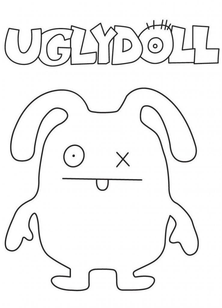 Ox - Ugly Doll Coloring Pages