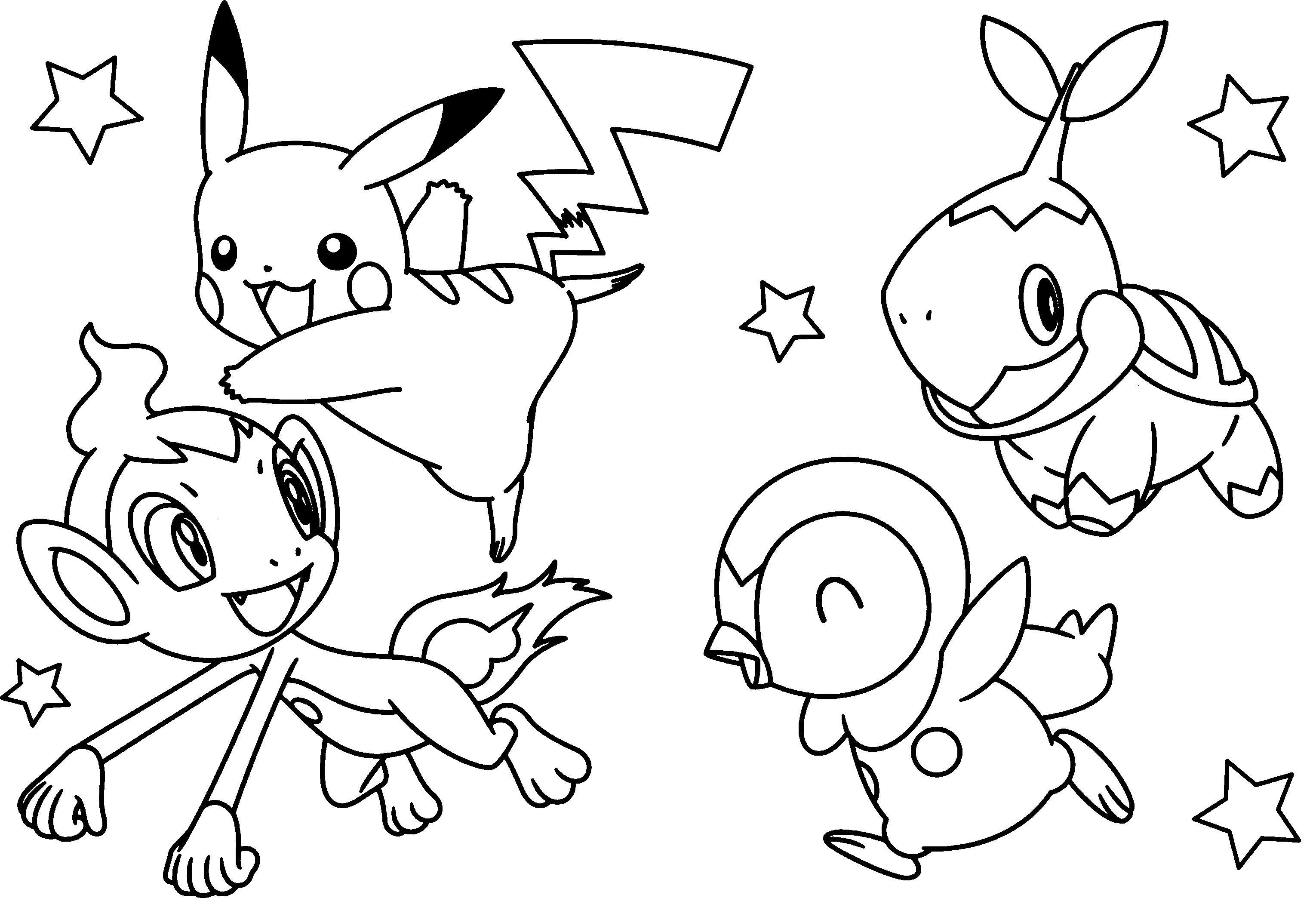Pokemon Go Coloring Pages - Best Coloring Pages For Kids