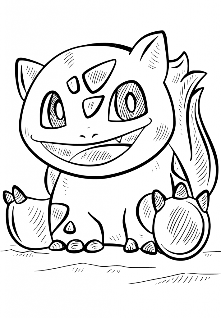 Pokemon Go Character Coloring Pages