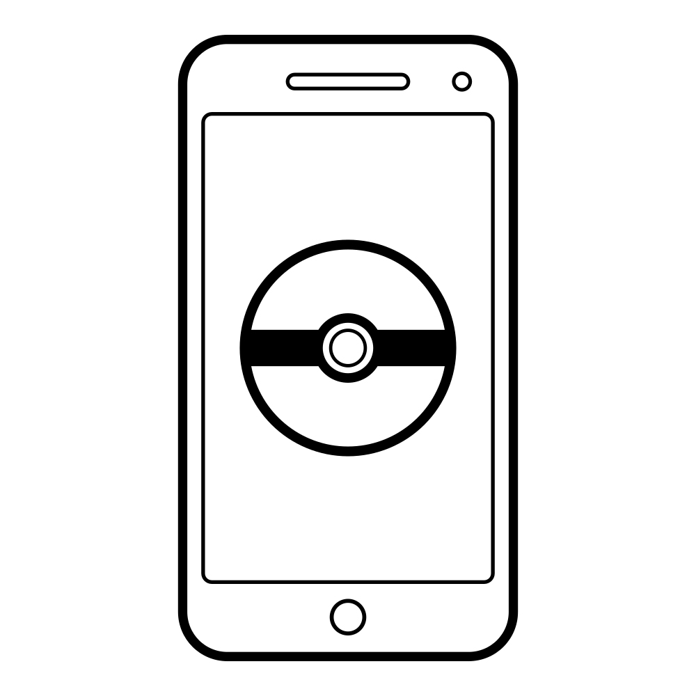 Pokemon Go Coloring Page