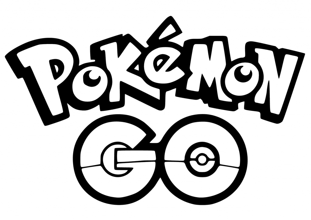 Pokemon Go Logo Coloring Pages