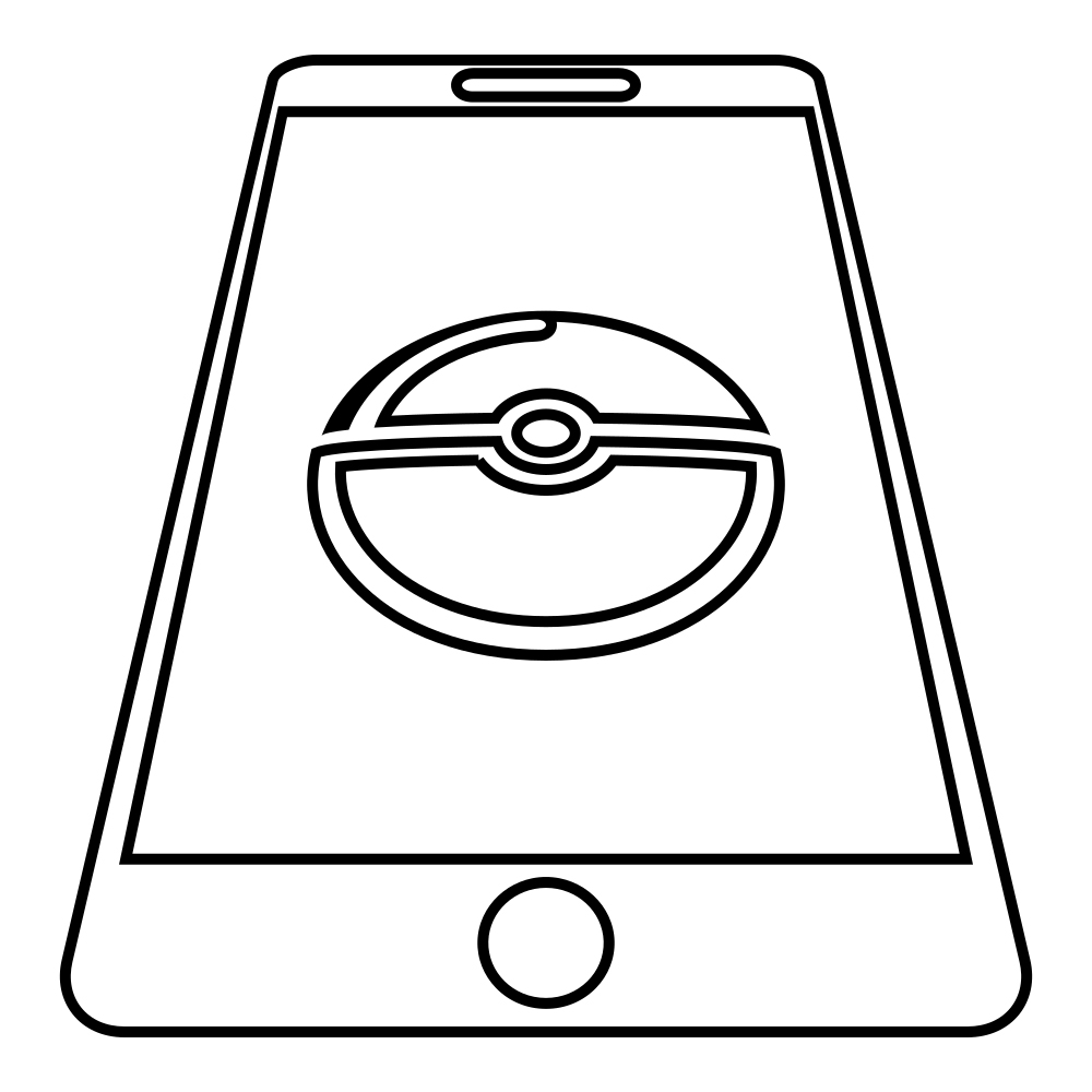 Pokemon Go Pokeball Coloring Pages
